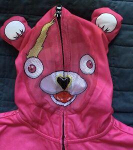 Fortnite Cosplay Pink Hoodie