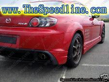 111 03 04 05 06-08 Mazda RX-8 Rear Garnish Body Kit RX8