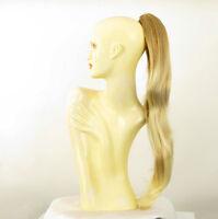 Postiche queue de cheval longue lisse 70 cm blond cuivré blond clair 5 en 27t613