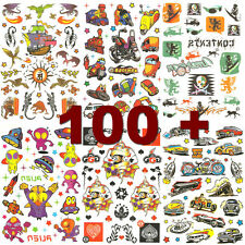 100 Plus +  Party Pack of Temporary Tattoos -T1101