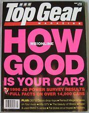 Top Gear 05/1996 No 32 featuring Lamborghini Diablo, Aston Martin, Alfa Romeo
