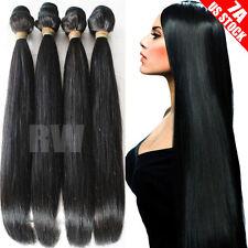 100g-300g True Unprocessed Brazilian Indian Virgin Human Hair Extensions 7A C217