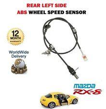 Pour Mazda RX8 1.3 2002-12/2008 NOUVEAU 1 X Arrière Côté Gauche ABS Roue Capteur de vitesse