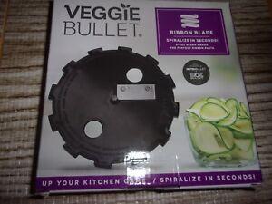 Veggie Bullet Ribbon Blade - Spiralize in Seconds