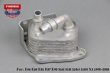 New Engine Oil Cooler For BMW E46 E60 E81 E87 E90 316i 318i 318ci 318ti X3 98-08