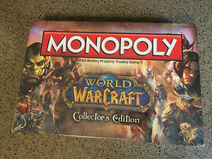Monopoly ~ World Of Warcraft ~ Collectors Edition Game Factory Sealed 2012 *NEW