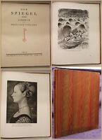 Der Spiegel Jahrbuch des Propyläen Verlages 1924 Geschichte Literatur Kunst sf