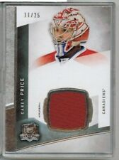 12/13 Upper Deck The Cup Carey Price Jersey Base #'ed 11/25