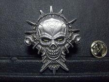Pin Skull Gothic - 4,5 x 3 cm