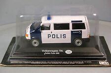 VOLKSWAGEN T4 BUS POLIS Poliisi VW POLICE 1:43 CARARAMA Hongwell NEW/BLISTER BF*