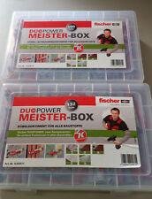 *Original Fischer* Meisterbox  Dübel Schrauben***für alle Baustoffe***