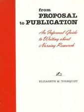 From Proposal to Publication: An Informal Guide to Writing About Nursi-ExLibrary