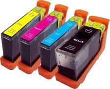 JUEGO DE 4 Cartucho Compatible Lexmark N100 en negro CIAN MAGENTA AMARILLO