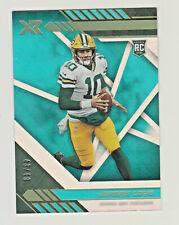 2020 Panini XR TEAL #104 JORDAN LOVE RC Rookie 43/49 Green Bay Packers