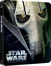STAR WARS REVENGE OF THE SITH STEELBOOK BLU RAY BRAND NEW SEALED UK RELEASE