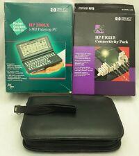 200LX Palmtop HP F1021B PC Connectivity Pack HEWLETT PACKARD 1MB Manual Box VTG