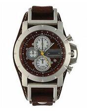 Fossil Armbanduhren mit Chronograph und gebürstetem Finish