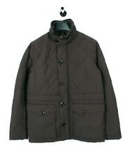 New G-Star Daven Quilted Grey Borwn Men Jacket Size L