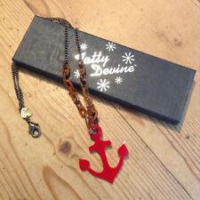 Alloy Acrylic Beach Nautical Costume Necklaces & Pendants