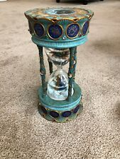 San Francisco Gift Co Visions Millenium Musical Earth Sarnat Hourglass Signed