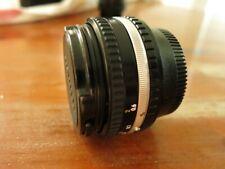 Nikon Nikkor 50mm Series E f1.8 Pancake Lens EX+ condition