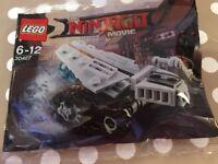LEGO Ninjago Movie Polybag Mini Ice Tank 30427 Brand New and SEALED