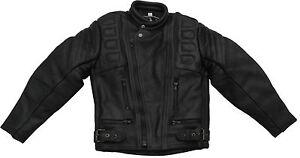 Roleff Racewear Kinder Lederjacke - Motorrad Lederjacke für Kinder - Größe M+L