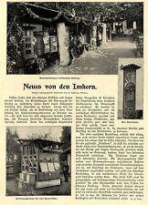 Imker * Imkerwesen * Klotzbeute * Gerstung-Pavillon *  Text- & Bilddokument 1902