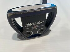 TaylorMade Spider X Putter Golf Club, 35-inches, Navy head