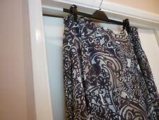 Skirt size 20 beige/brown designer HABELLA 31 in. long, 40 in. waist excellent