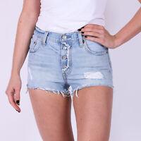 Levi's 501 hellblau Damen Denim Shorts DE 38 / US W31