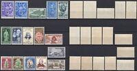 #836 - Repubblica - Lotto di 16 francobolli, 1950 - Nuovi (** MNH)