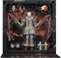 "NECA - IT (2017) - Ultimate Pennywise The Dancing Clown 7"" Scale Action Figure"