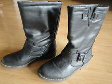 Boots bottines femme noires pointure 37 marque BUFFALO authentique