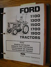 Ford 1100 1300 1500 1700 1900 TRACTOR PARTS CATALOG MANUAL BOOK GUIDE LIST