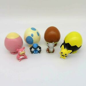 4pc Set Pokemon Egg Pot vol.2 Gashapon Figurine Toy TAKARA TOMY A.R.T.S