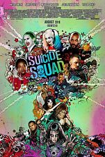 Suicide Squad Movie Poster (24x36) - Deadshot, The Joker, Harley Quinn v3