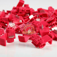 NEW Scotch Lock Quick Splice 22-18 AWG Wire Connector Red 100pcs