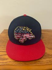 Florida Fire Frogs 4th of July Baseball Cap New Era 59Fifty Size 7 3/4
