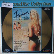 PAULINE AT THE BEACH Laserdisc Amanda Langlet, Arielle Dombasley LD Very Rare