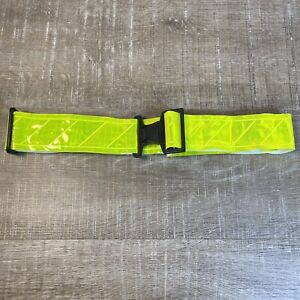 Neon High Visibility Reflective Safety PT Belt Yellow Army Military Reflex Brand