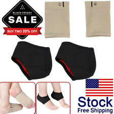 2 PAIR - Arch Support Gel Orthotic Insole Plantar Fasciitis Foot Sleeve Cushion