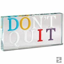 Spaceform Landscape Glass Token Do It Don't Quit Positive Inspirational Gift