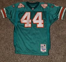 VINTAGE WILSON PRO LINE AUTHENTIC MIAMI DOLPHINS customized JERSEY SIZE 48