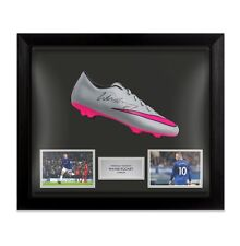 Framed Wayne Rooney Signed Football Boot - Everton Autograph Cleat