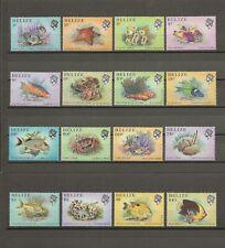 More details for belize 1984/8 sg 766/81 mnh cat £12.50