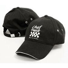 Chef Baseball Cap - Cotton Twill, Black