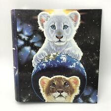 Vtg 90s Mead 3 Ring Binder Schimmel Sarmoti Shaka Siegfried Roy White Lion Cubs