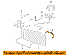 AC A/C Air Conditioner-Suction & Discharge Hose Assy 55057013AB