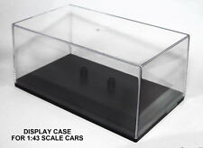 Display Case & Plynth for 1:43 Scale Cars - 135mm x 80mm x 63mm High - T48 Post